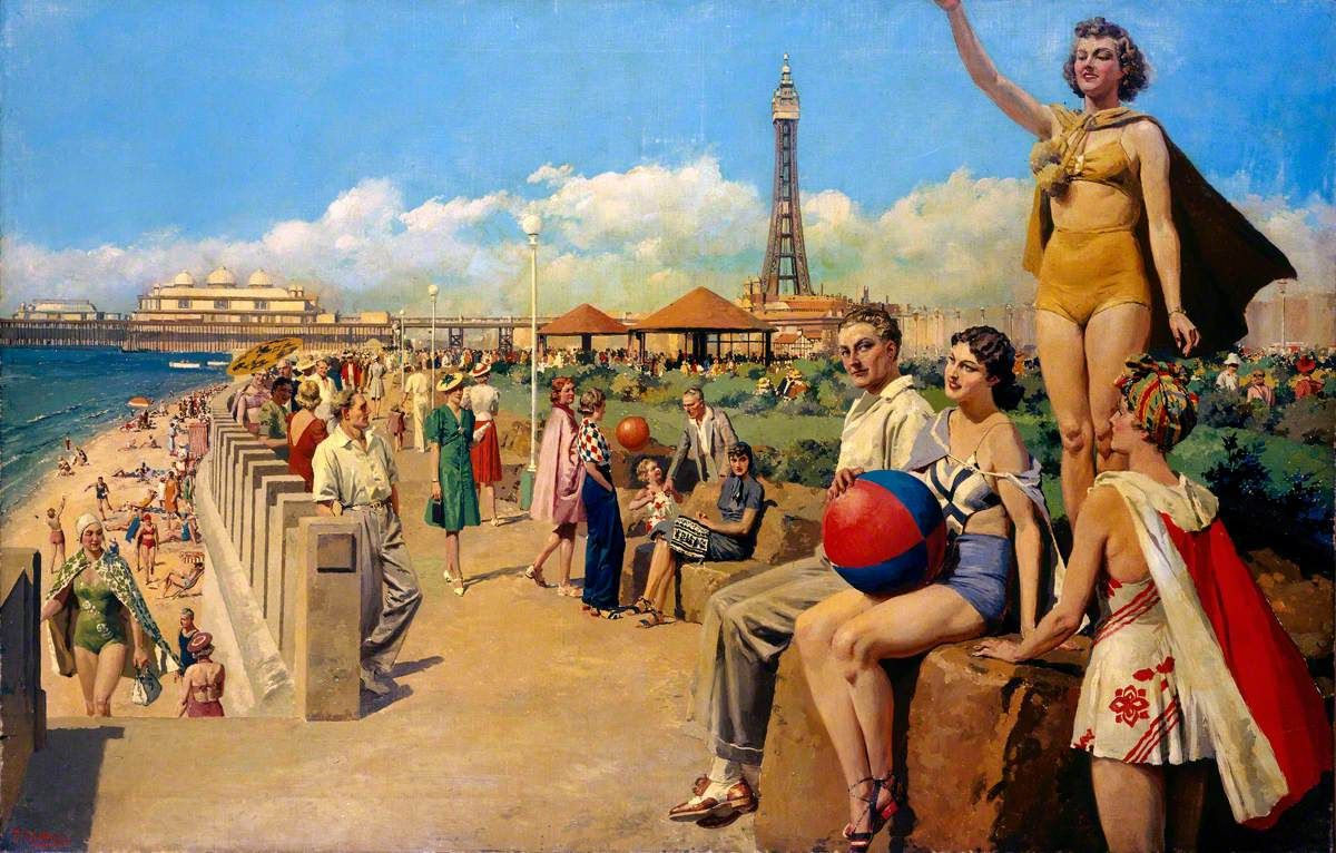 Blackpool--Fortunino Matania (1881–1963