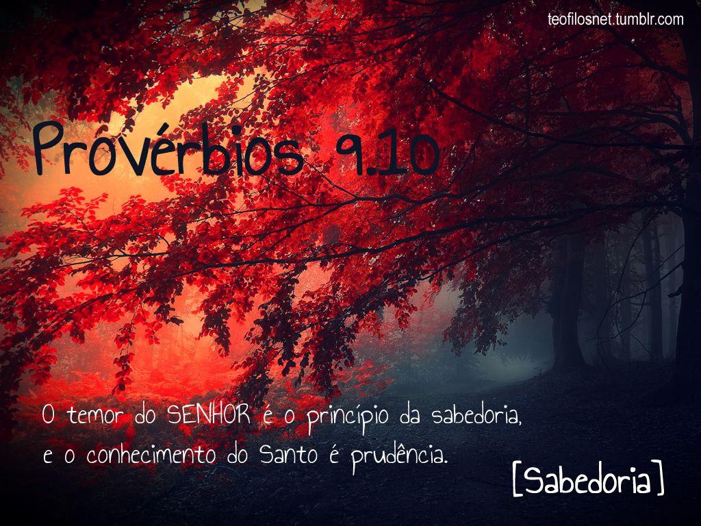Provérbios 9.10