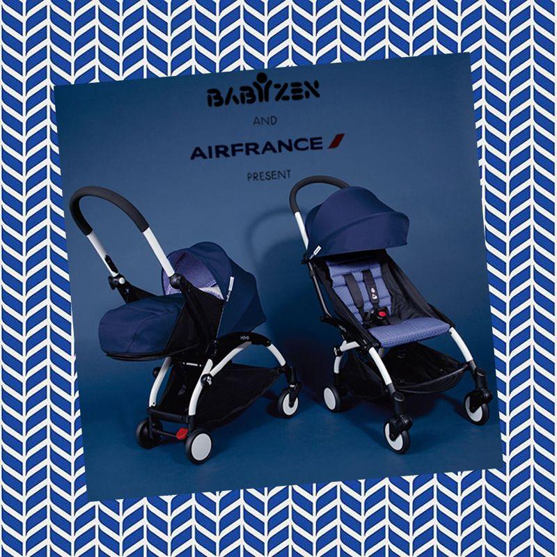 Edition spéciale Nouvelle poussette Babyzen Yoyo plus Bleu Air ...