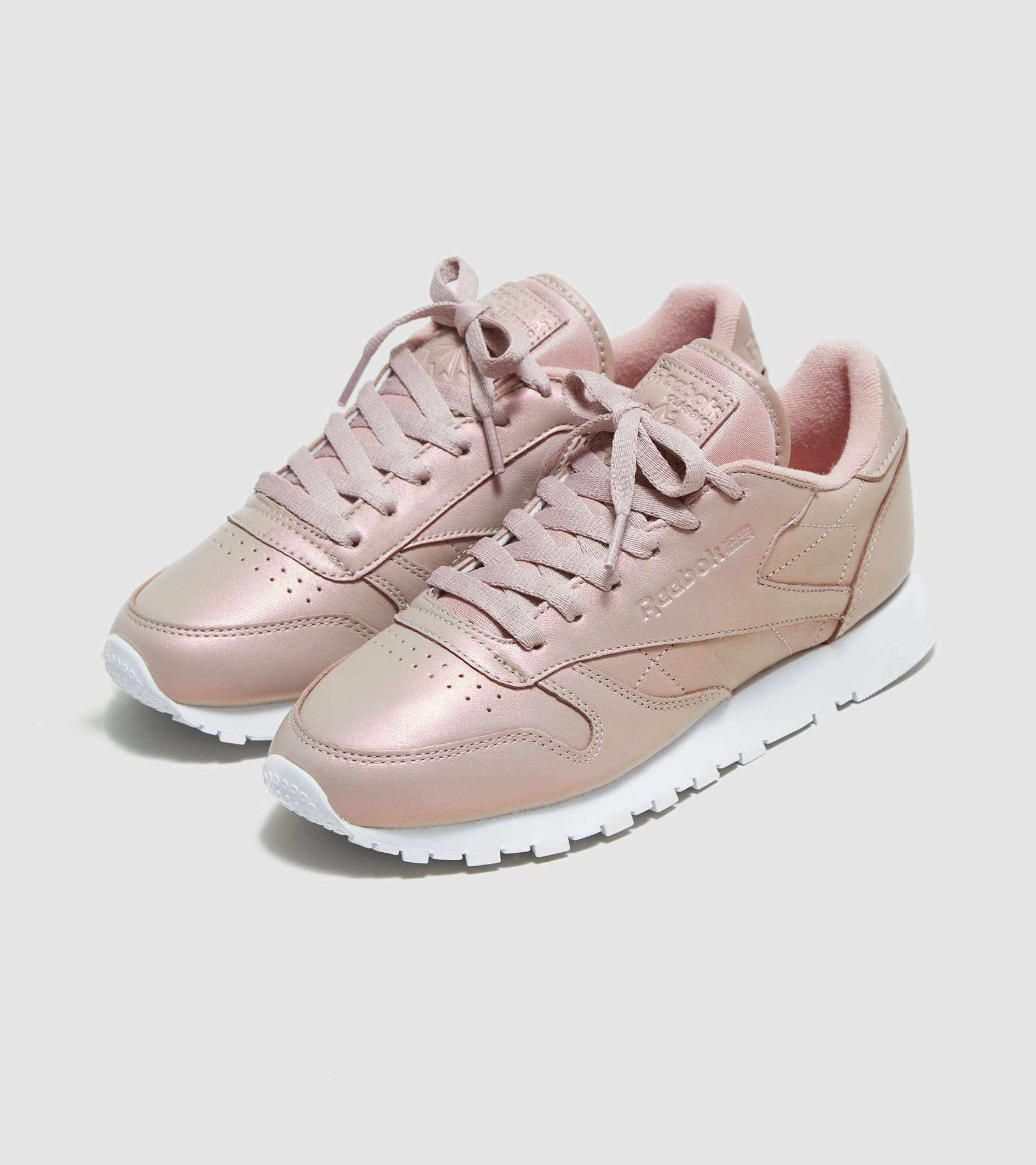 Reebok Classic Leather Pearlised Women's - find out more on our site. Find  the freshest