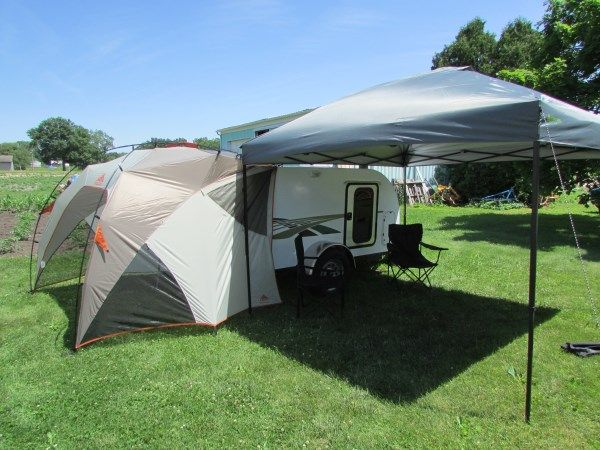 diy camp lighting | diy tiny camping trailer 003 DIY Micro Camping Trailer I Built for ...