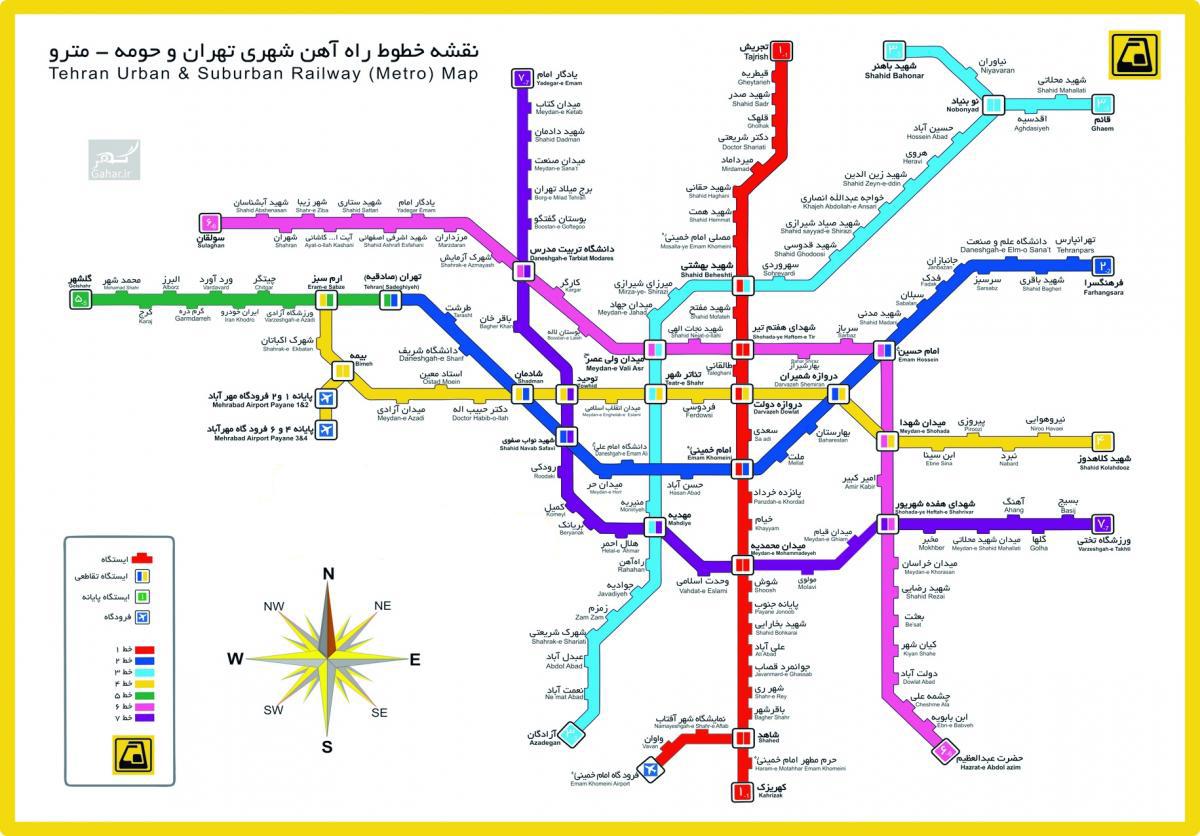 مترو تهران Google Search Metro Map Metro Tehran