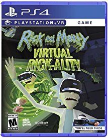 Rick & Morty: Virtual Rick-ality - PlayStation 4 | Ps4 ...
