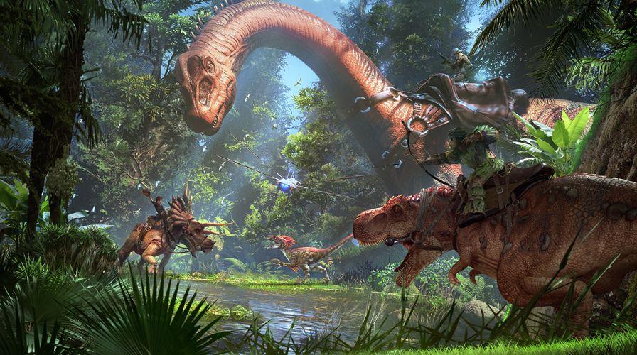 Ark Park On Steam Evolve Wallpapers Ark Survival Evolved Ark