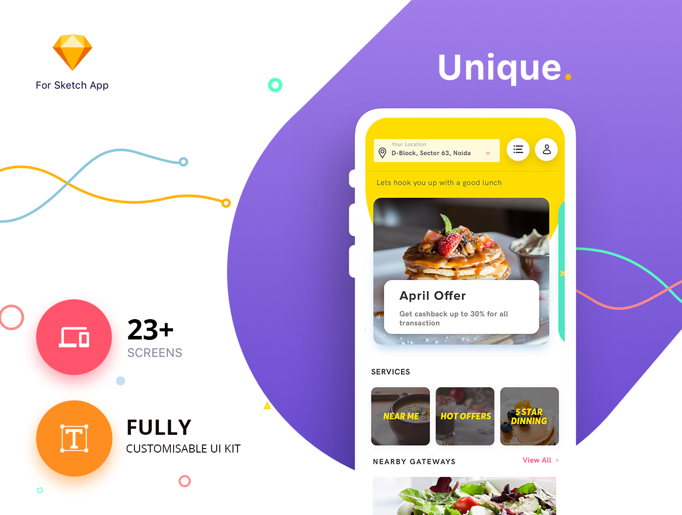 Kasovious iOS Restaurant App UI Kit #iOS #Restaurant #App #UI #Kit