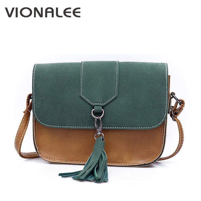 1d1e2b7b837 Nubuck Women Messenger Bags Designer Handbags Retro Shoulder Bag Women  Cross Body Bags Tassel Women Handbag Small Ladies Fashion