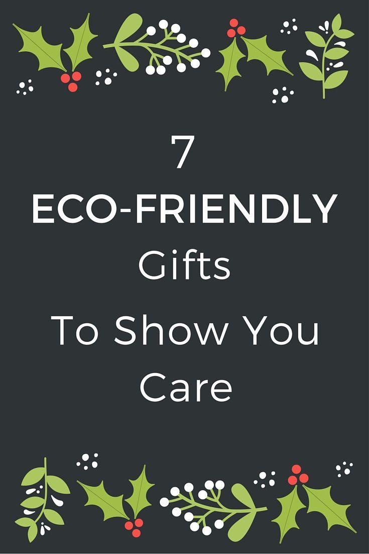 Eco xmas gifts ideas
