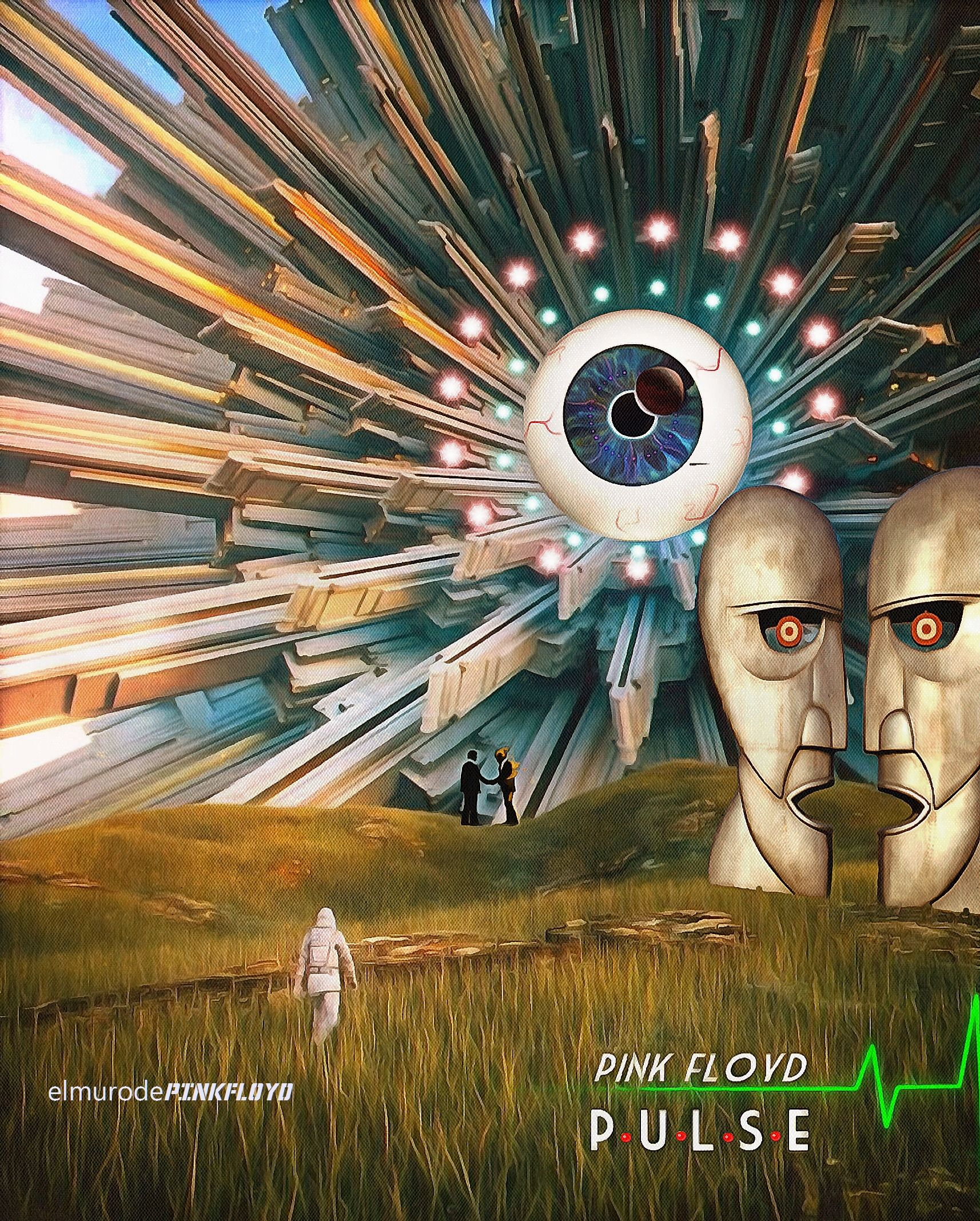 Pink Floyd Pulse With Images Pink Floyd Art Pink Floyd
