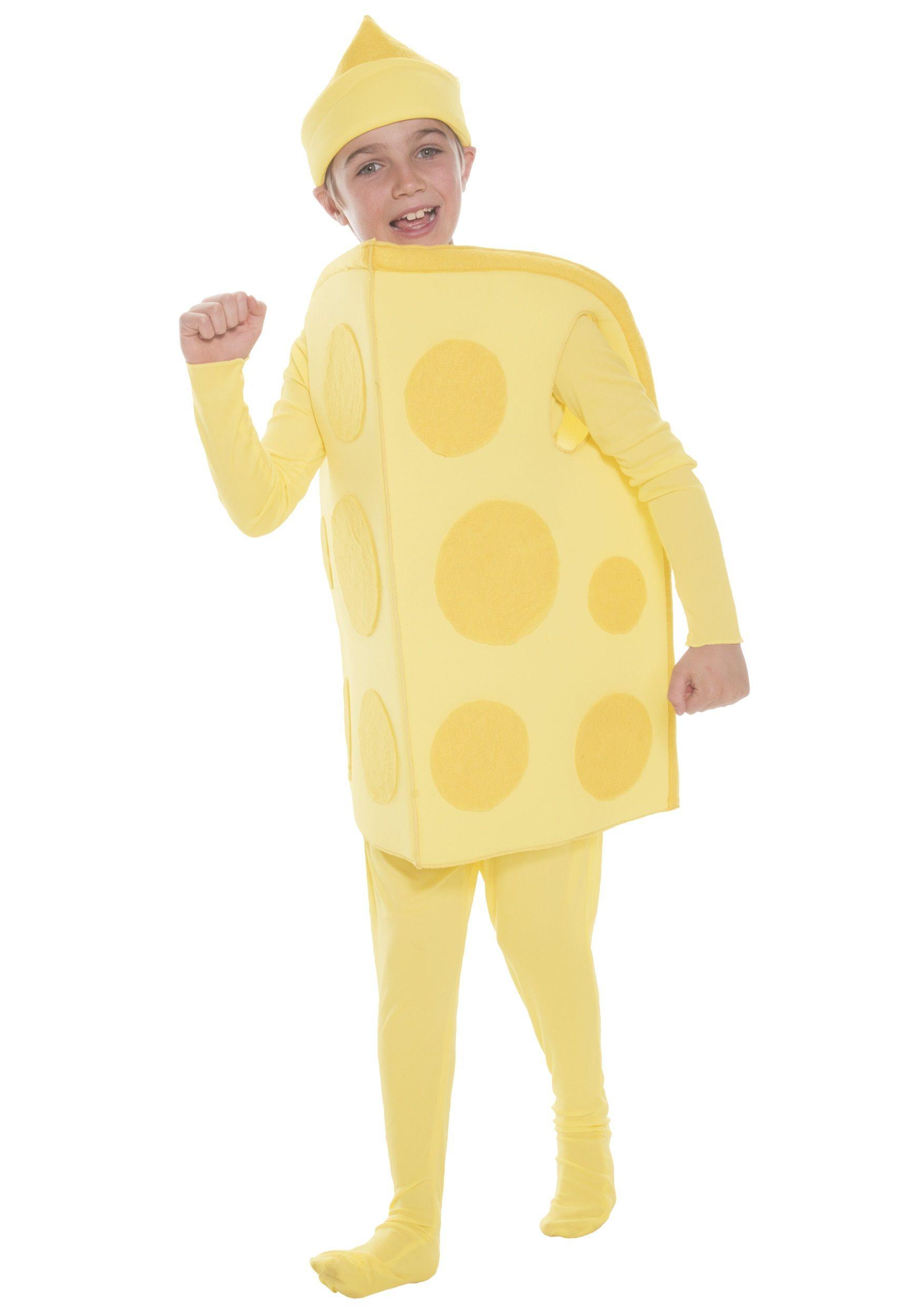 Child Cheese Costume | Cheese costume, Costumes and Halloween costumes