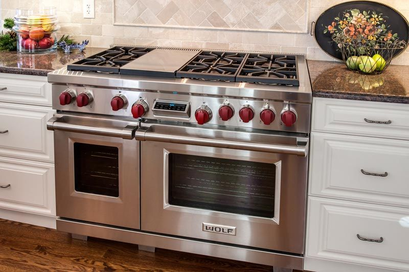 Wolf Stainless Steel 36  Gas Range  Remodel by JM Kitchen   Bath Denver. Wolf Stainless Steel 36  Gas Range  Remodel by JM Kitchen   Bath