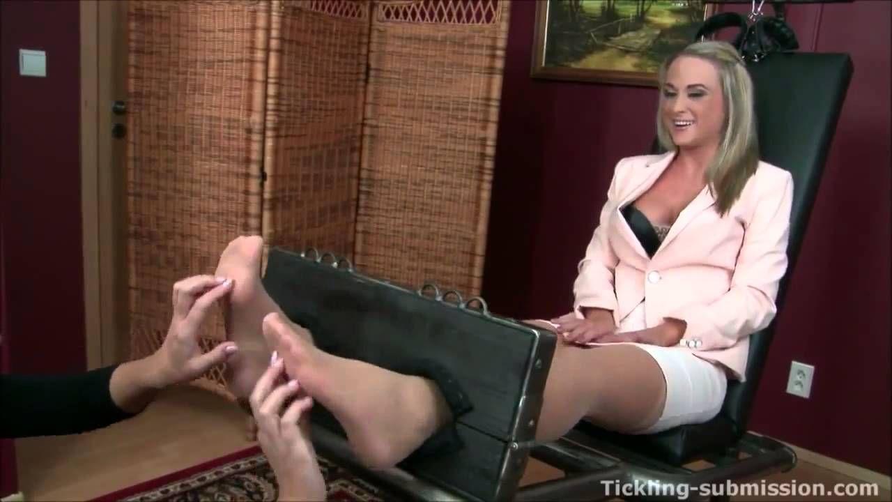tickle feet