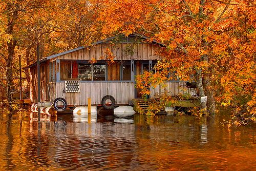 Floating Camp On The Ouachita River By Finchlake Lake House