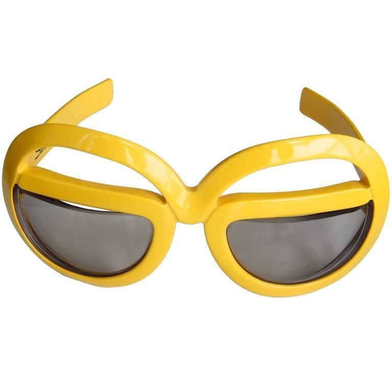 1970s Futuristic Sunglasses by Silhouette | From a collection of rare vintage sunglasses at https://www.1stdibs.com/fashion/accessories/sunglasses/