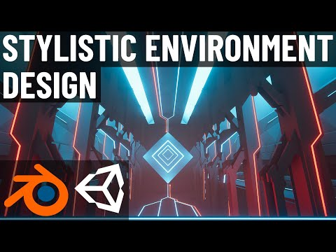 Stylistic Environment Design (Blender 2.8 and Unity