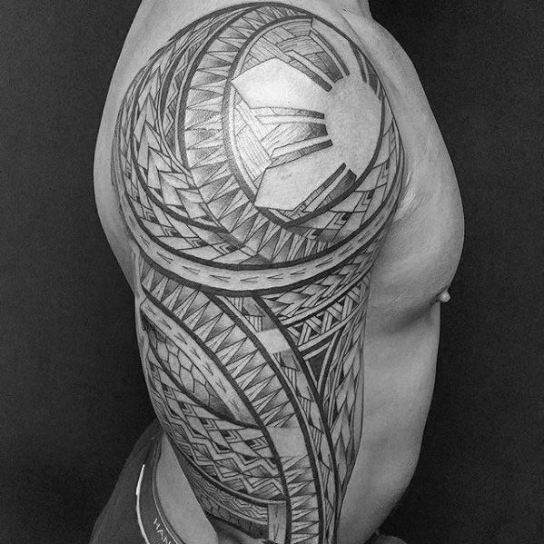 0d01e6a8a 50 Filipino Sun Tattoo Designs For Men - Tribal Ink Ideas | Idears ...