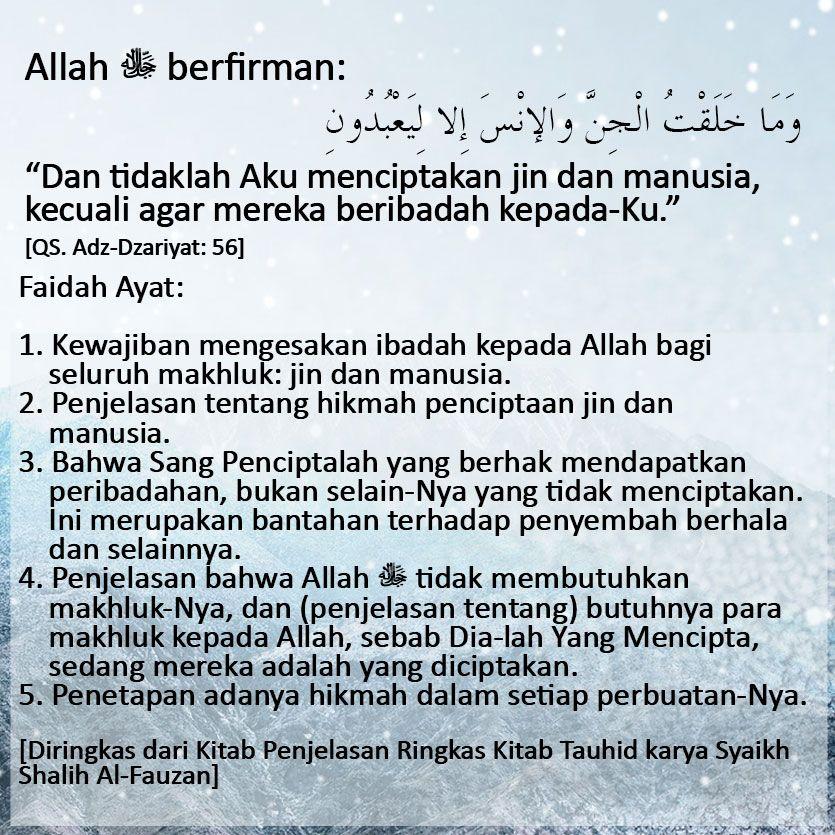 APAKAH HIKMAH PENCIPTAAN JIN DAN MANUSIA   Motivasi, Islam, Agama