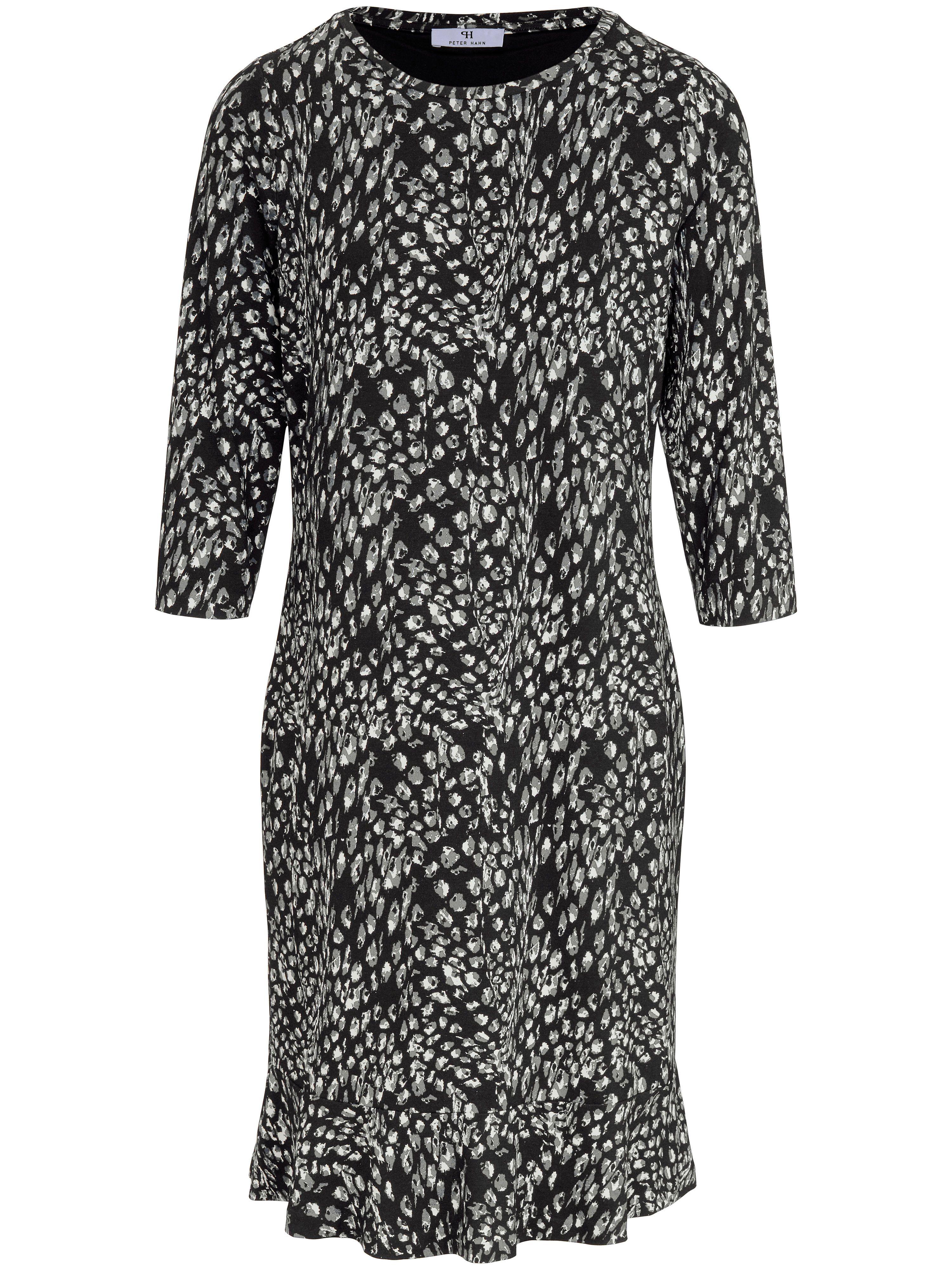 065dc3b493dc0 La robe imprimée jersey Peter Hahn multicolore taille 48   Mode et ...