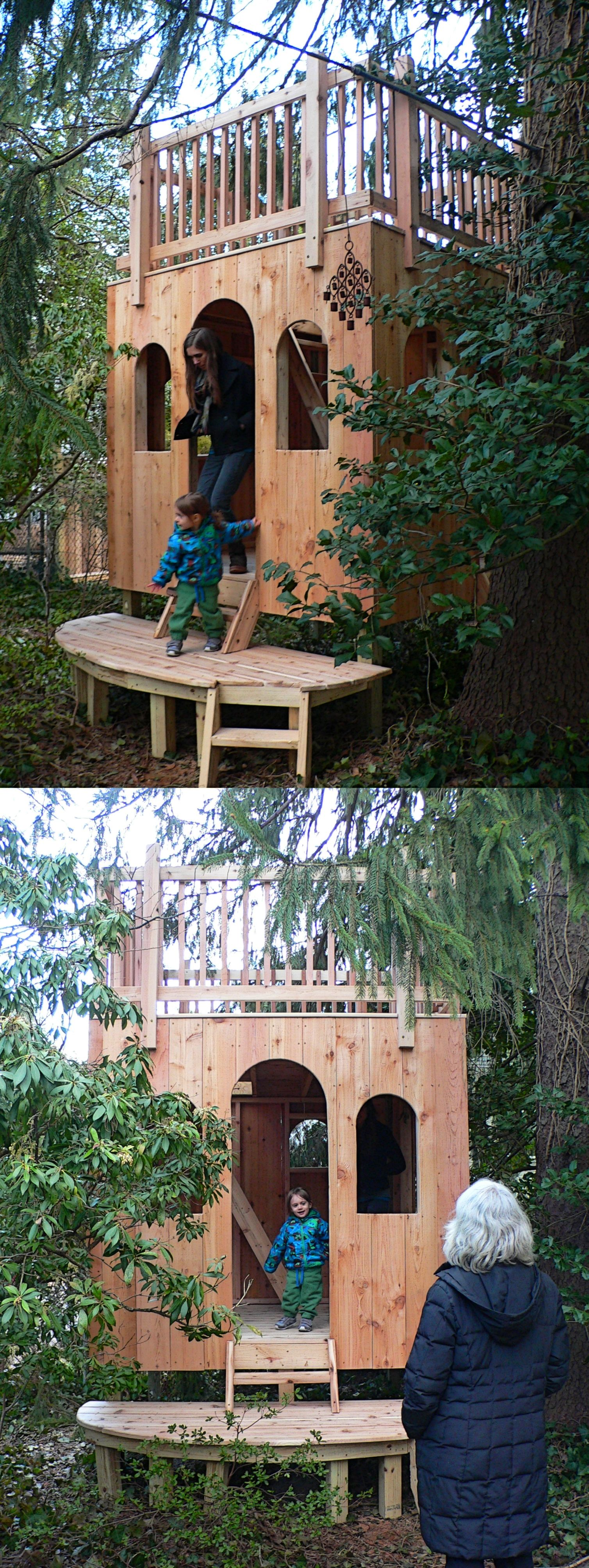 We do playhouses too!