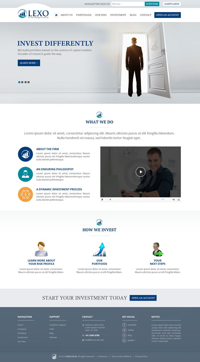 22 Finance And Investment Websites Inspiration Designyep Finance Investing Investing Finance Jobs