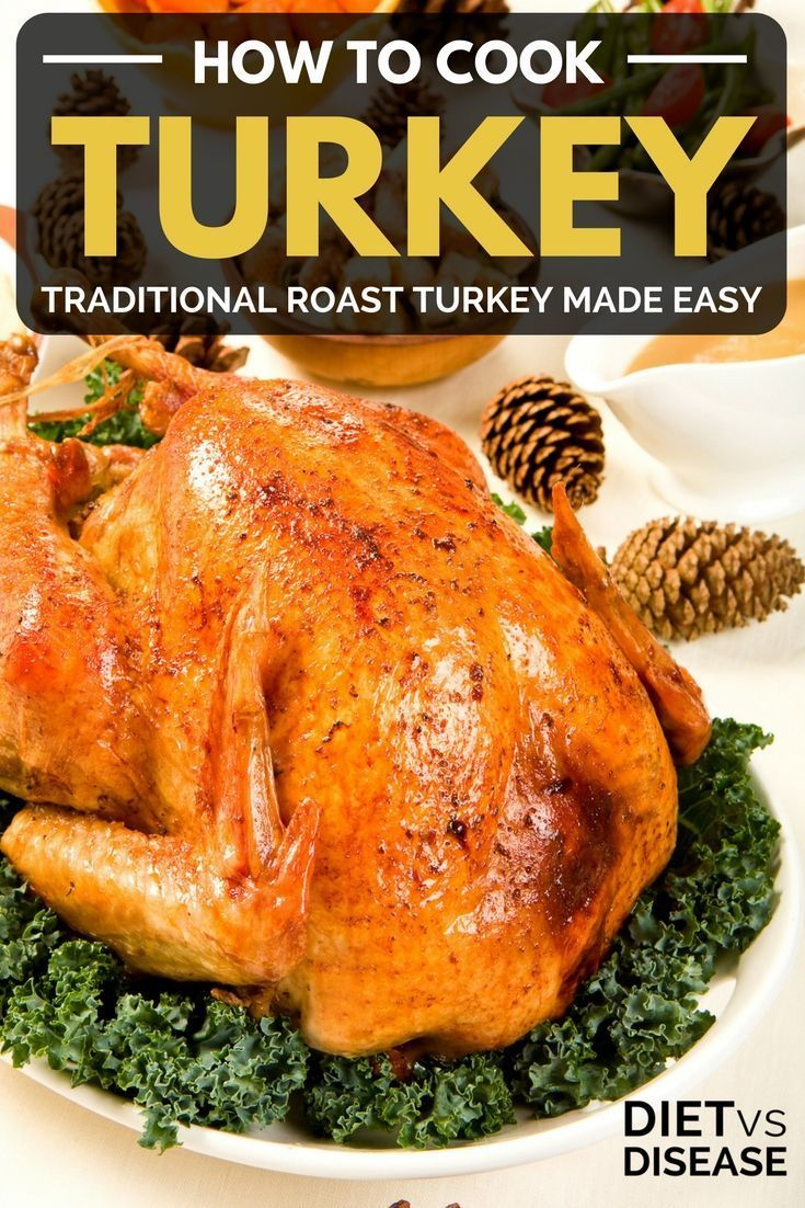How to Cook Turkey: Traditional Roast Turkey Made Easy | Diet vs Disease