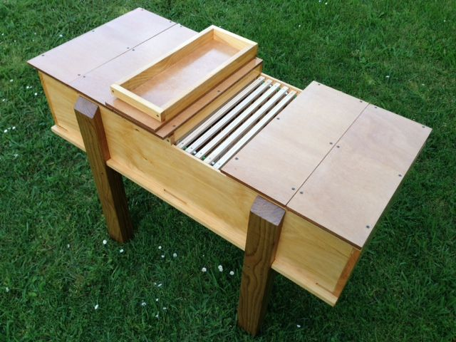 Plans for horizontal hive using deep frames | Bee Keeping ...