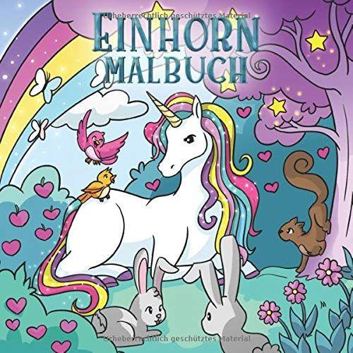 Einhorn Malbuch: F¨¹r Kinder im Alter von 4-8 Jahren (Malb¨¹cher f¨¹r Kinder, Band 4) #im, #Alter, #Kinder, #Einhorn