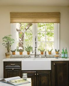 Wendy bellissimo natural woven waterfall valance custom for Smith and noble bamboo shades