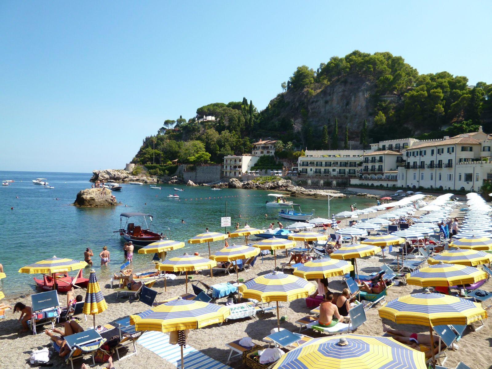 Spiaggia, Mazzaro Taormina Sicilia