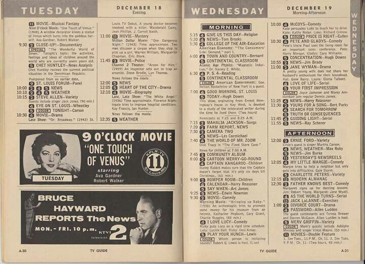Tv Guide Tv Guide Classic Television Tv Land