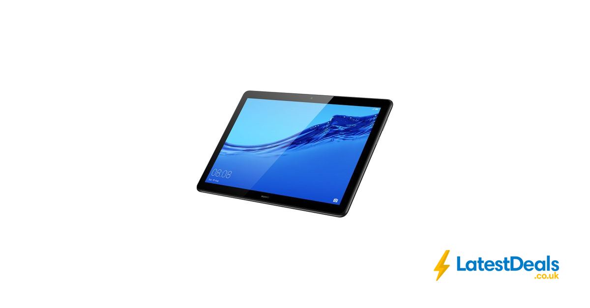 Black Friday Deal Huawei Mediapad T5 10 1 Tablet 32 Gb Black 130 At Currys Pc World Black Friday Deals Card Reader World
