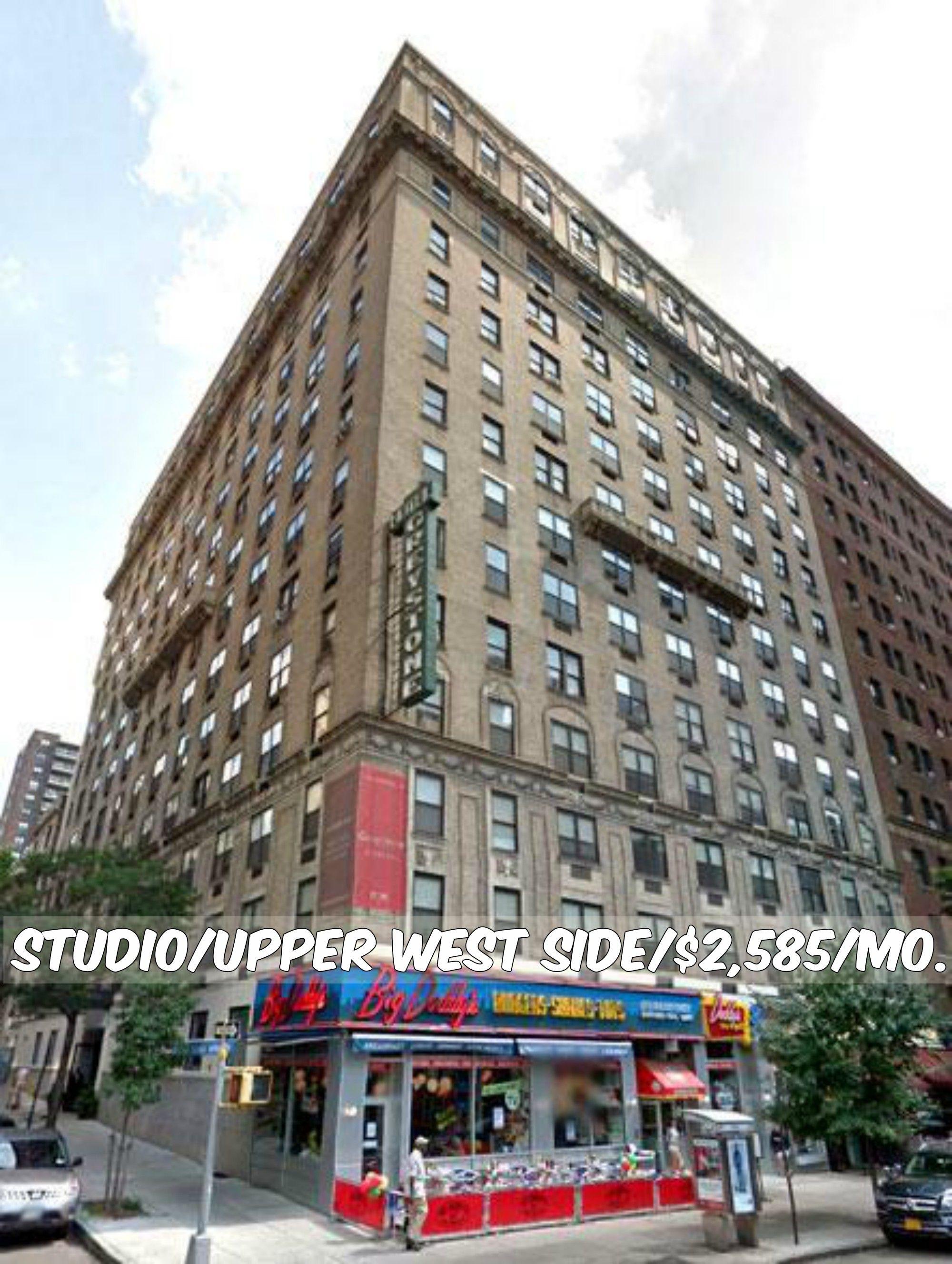 Studio Apt For Rent In Upper West Side At 2 585 Mo Doorman