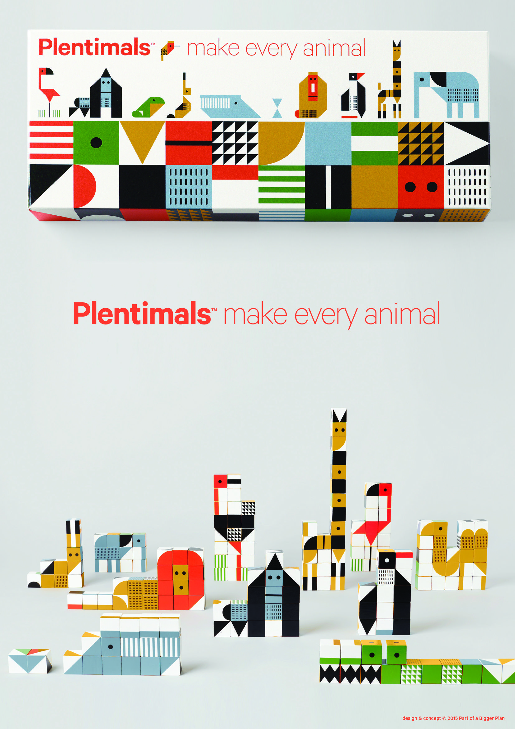 Make every animal Plentimals Illustrations and posters