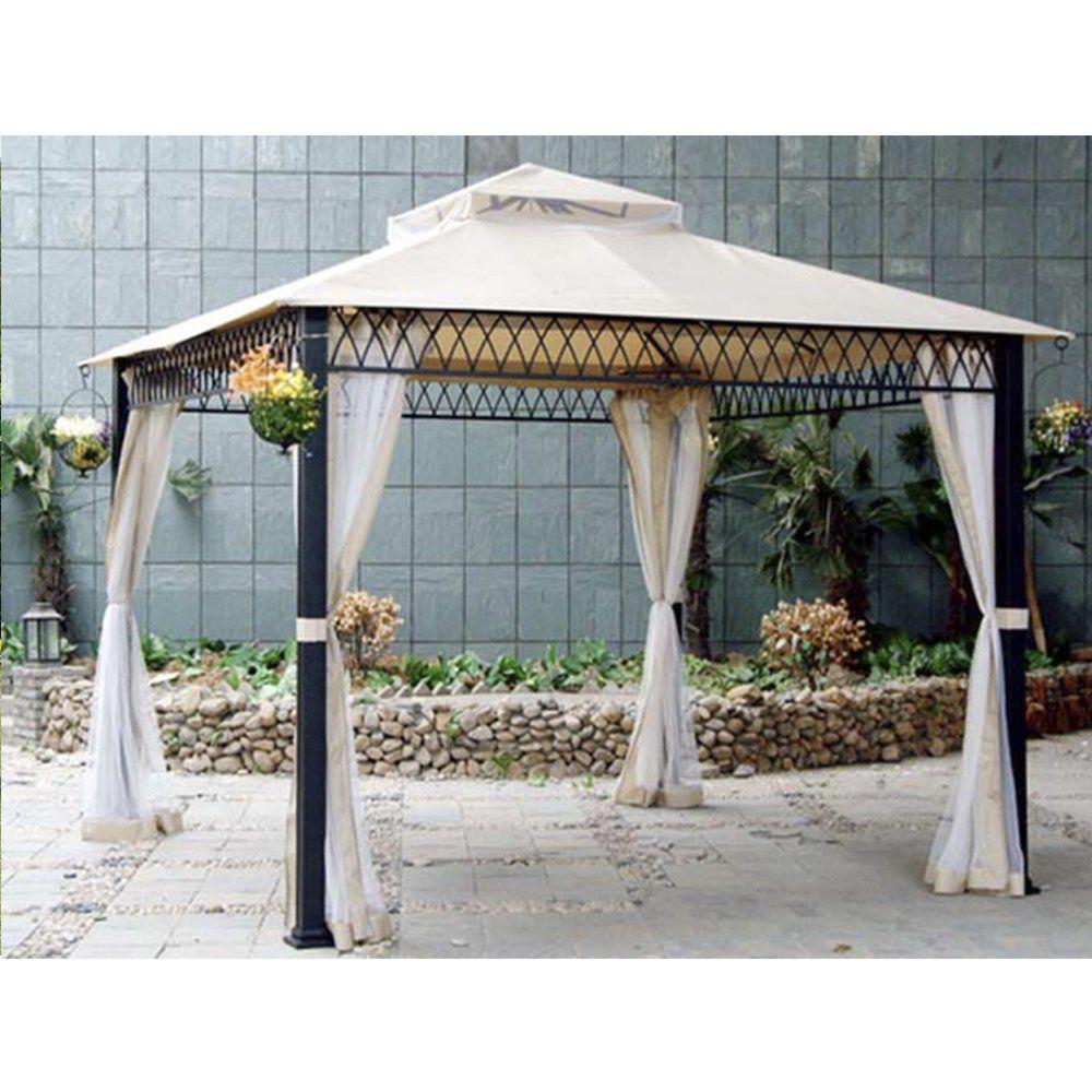 Amazon Com Sunjoy Replacement Canopy Set For Havenbury Gazebo Garden Outdoor Gazebo Replacement Canopy Outdoor Shade
