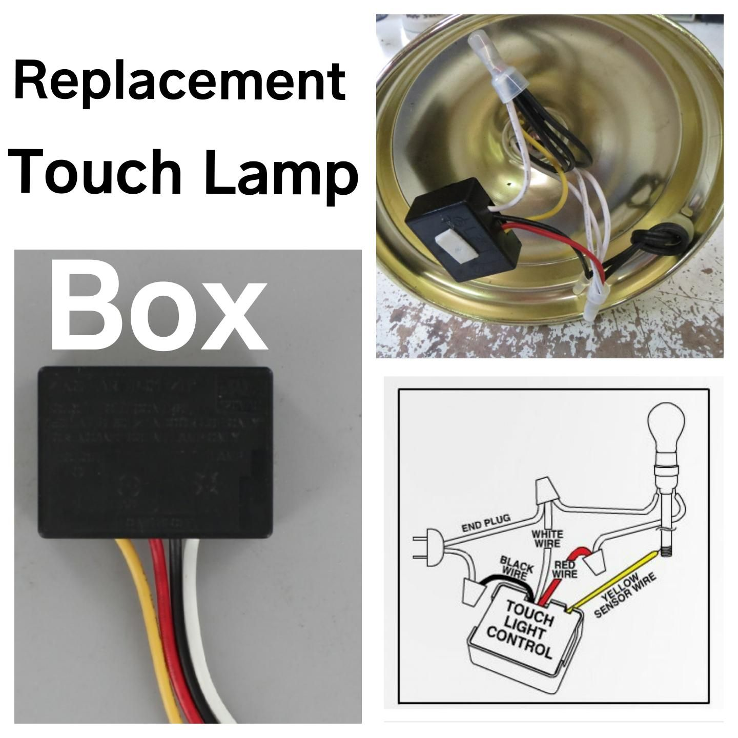 Marvelous Touch Lamp Control Switch Lighting Supplies Wiring Cloud Brecesaoduqqnet