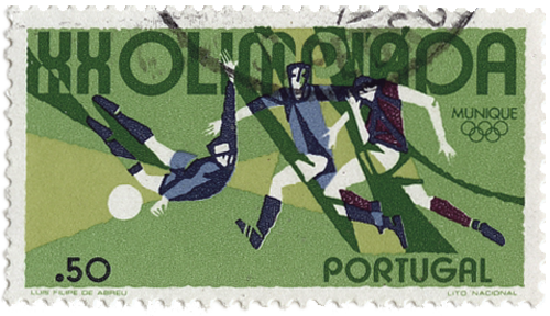 Commemorative stamps of the 1972 Summer Olympics (aka