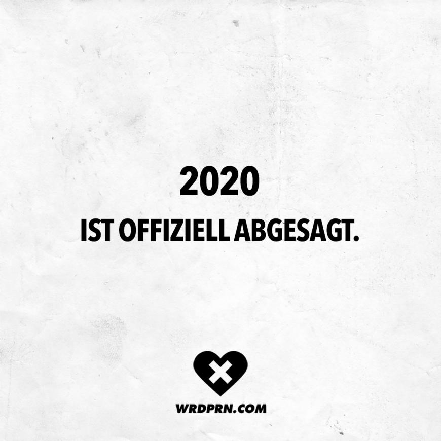 Photo of 2020 ist offiziell abgesagt. – VISUAL STATEMENTS®