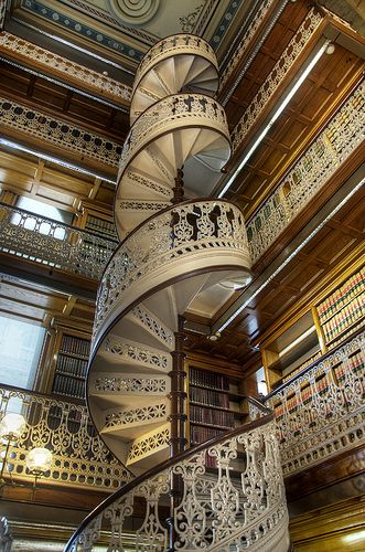 Library Stairs Architecture