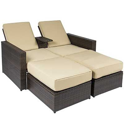 Best Choice Products Outdoor Rattan Wicker