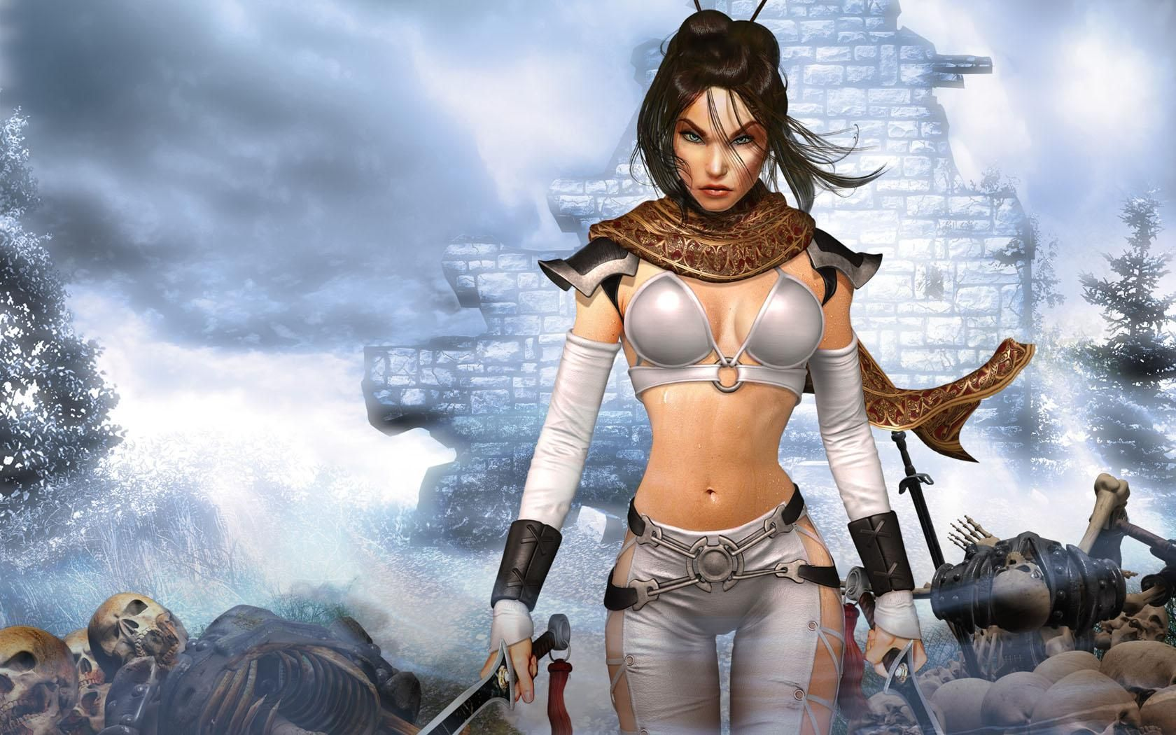 beautiful warrior women | fantasy warrior women beautiful free