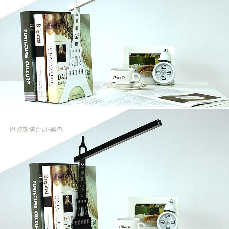 ¥58 新品时尚巴黎铁塔造型设计LED台灯带光源 创意礼品 送朋友同事-淘宝网