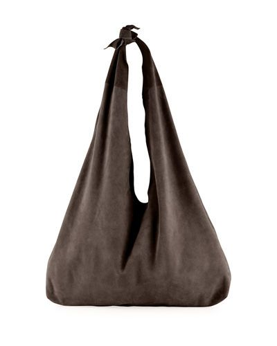 249544cffd THE ROW BINDLE KNOT SUEDE HOBO BAG.  therow  bags  shoulder bags  lining   suede  hobo