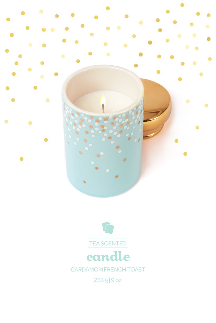 This Tea Scented Candle Smells Like Our Rich And Decadent Cardamom French Toast