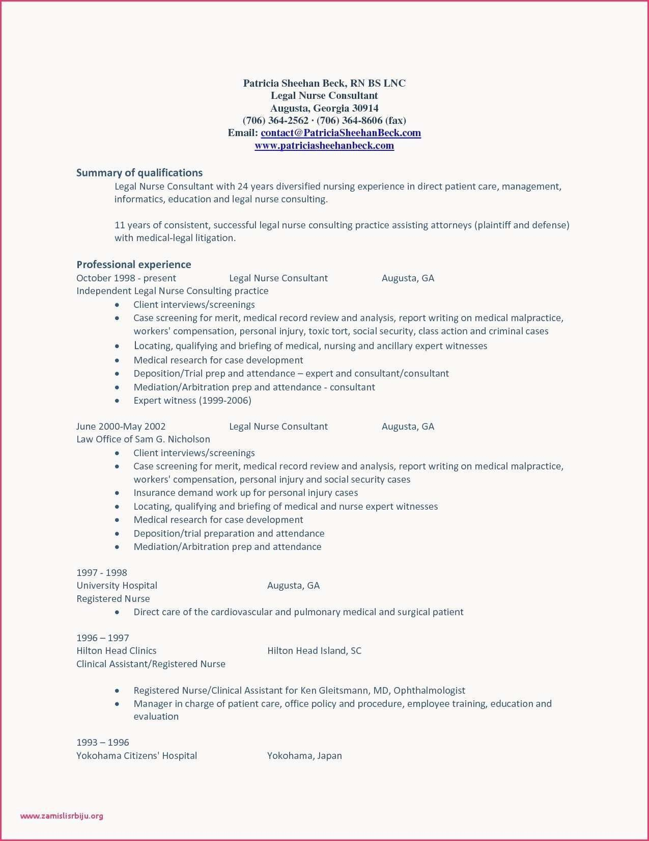 Nursing Needs assessment Template Lovely Resume Template