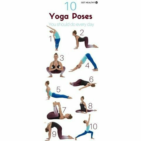a simple yoga workout 10 yoga poses you should try