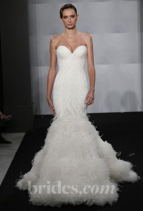 brides mark zunino for kleinfeld 2013 style mzbf63 strapless beaded mermaid wedding