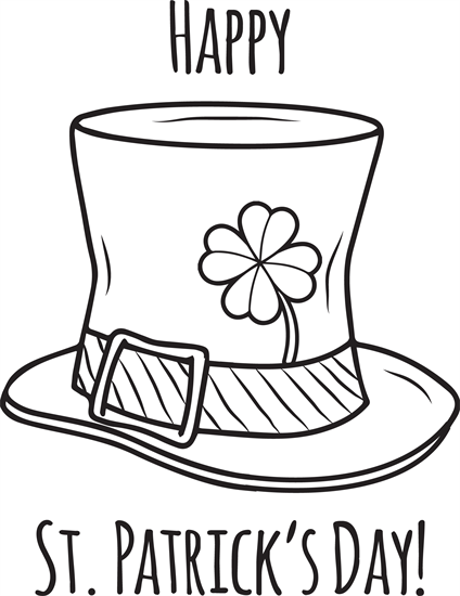 Happy St. Patrick\'s Day Coloring Page | Coloring Pages for Kids ...