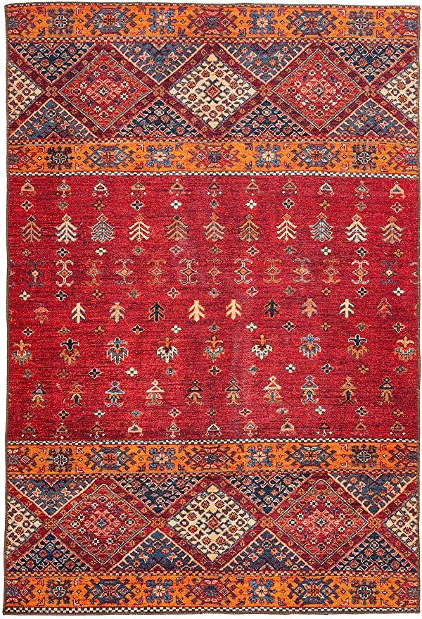 Amazon De Moebeldeal Teppich Ethno Muster Laufer Wohnzimmerteppich Teppichlaufer Flur Multi Rot In 2020 Wohnzimmerteppich Teppich Teppichlaufer