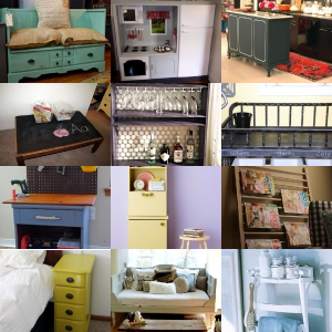 Repurposing Old Furniture how to repurpose old furniture. oldfurniturerepurposedwoohome12