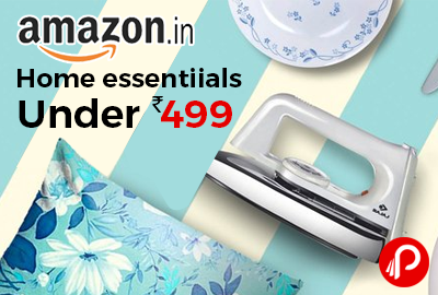 Amazon Is Offering Lighting Deal On #Home #Essentials Products Under Rs.499.