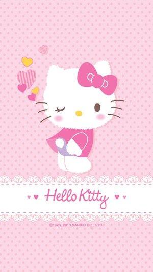 苹果6高清壁纸,iPhone 6 plus高清壁纸,hello kitty 高清壁纸,猫迷们继续发我的珍藏哦 - 堆糖 发现生活_收集美好_分享图片